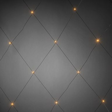 Konstsmide 3757-800 Lysnett 96 lyspunkter, 3x3 m