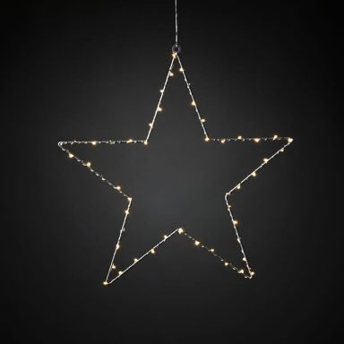 Konstsmide 1200-993 Julstjärna metall, 45 cm