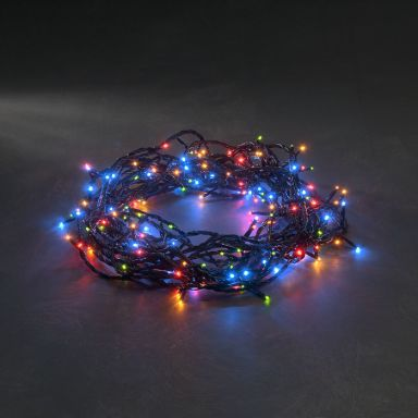 Konstsmide 3630-500 Lysslynge flerfarget, 5,5 m