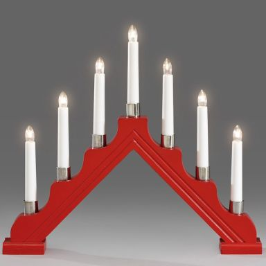Konstsmide 1041-510 Sähkökynttelikkö 7 kynttilää