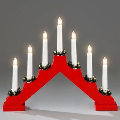 Konstsmide 2262-510 Sähkökynttelikkö 7 kynttilää
