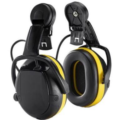 Hellberg SECURE ACTIVE Hörselskydd Medhörning, med hjälmfäste