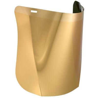 Hellberg SAFE PC Visir polykarbonat, guldpläterat
