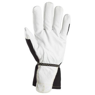 Snickers 9361 ProtecWork Handske vit/svart, fodrad