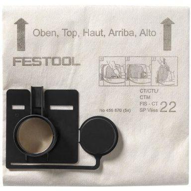 Festool FIS-CT 44 SP VLIES Filtersäck 5-pack