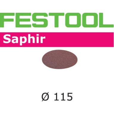 Festool STF SA Hiomapaperi 115 mm, 25 kpl