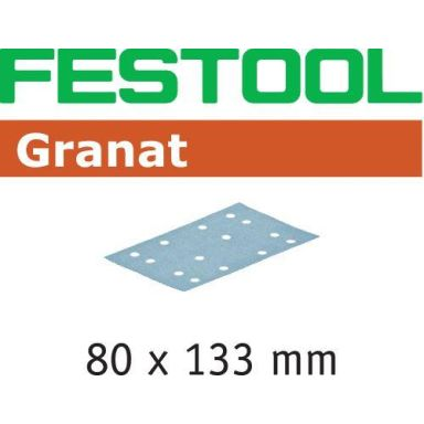 Festool STF GR Slippapper 80x133mm, 10-pack