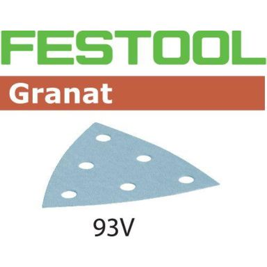 Festool STF GR Hiomapaperi V93, 6-reikäinen, 50 kpl