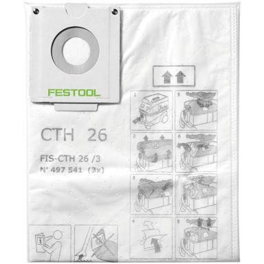 Festool FIS-CTH 26/3 Säkerhetsfiltersäck 3-pack