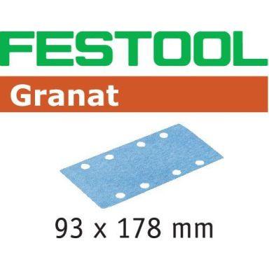 Festool STF GR Slippapper 93x178mm, 50-pack