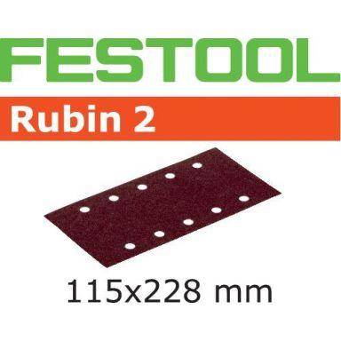 Festool STF RU2 Slippapper 115x228mm, 50-pack