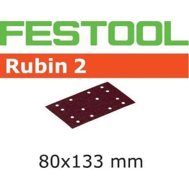 Festool STF RU2 Slippapper 80x133mm, 50-pack