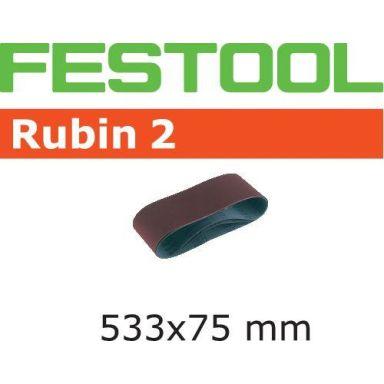 Festool RU2 Slipband 533X75mm, 10-pack