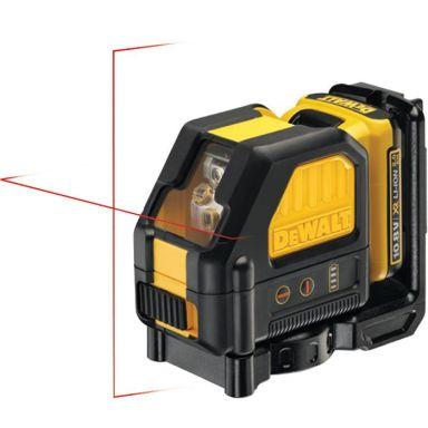 Dewalt DCE088D1R Krysslaser med rød laser