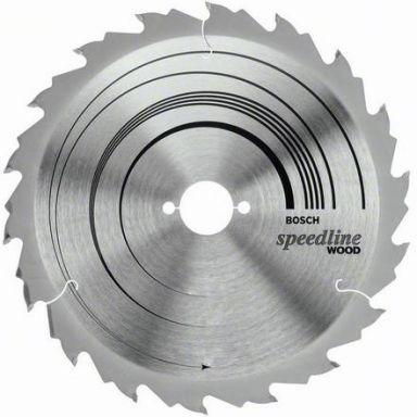 Bosch 2608640801 Speedline Wood Sahanterä 24T
