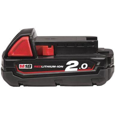 Milwaukee M18 B2 18V Li-Ion batteri 2,0Ah