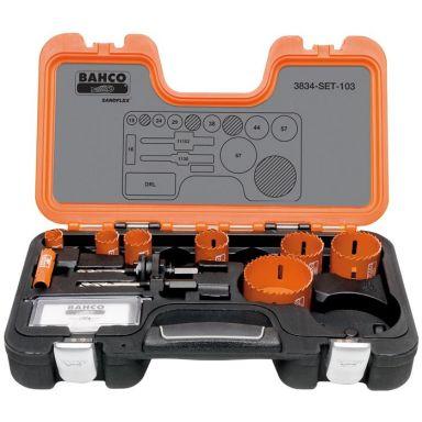 Bahco 3834-SET-103 Hullsagsett