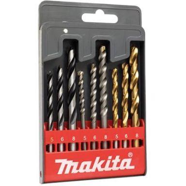 Makita D-08660 Poranteräsarja