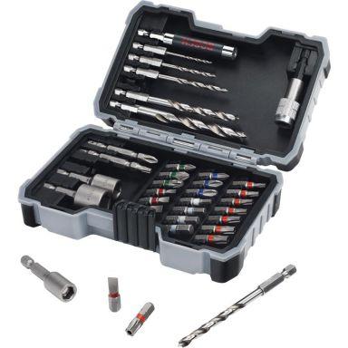 Bosch 2607017327 Wood Borr- och bitset 35 delar
