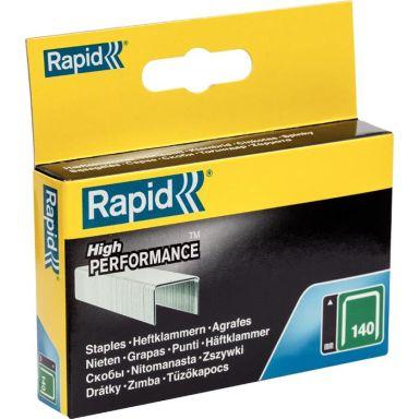 Rapid Nr 140 Bredtrådsklammer Stål 2000-pack