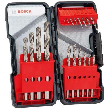 Bosch 2607019578 Metalliporanteräsarja 18 osaa
