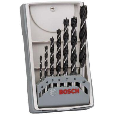 Bosch 2607017034 Puuporanteräsarja 7 osaa
