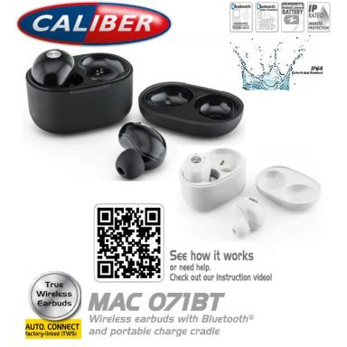 Caliber MAC70BT Headset Bluetooth