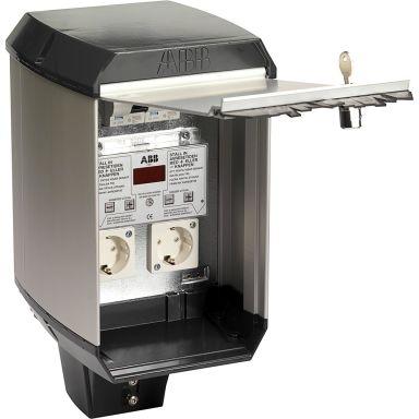 ABB CW 200 Bilvärmarcentral temperaturstyrt elektroniskt tidur