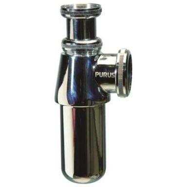 Purus 8081085 Pungvattenlås 32 mm x G32, krom