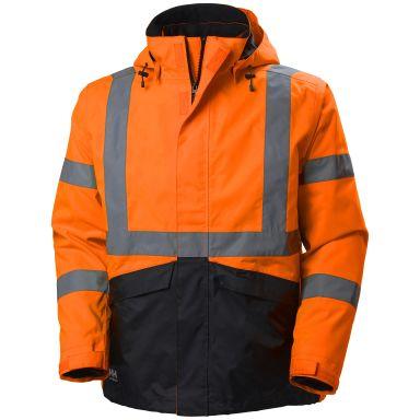 Helly Hansen Workwear Alta Jacka varsel, orange/svart