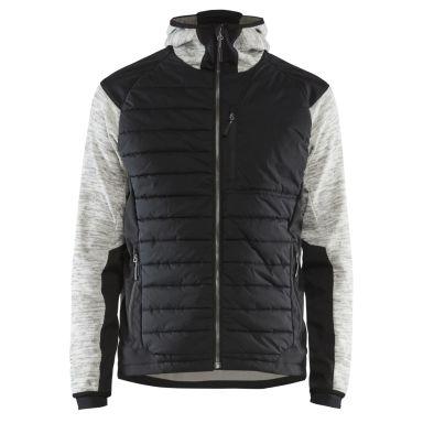 Blåkläder 593021179099XXXL Hybridjacka gråmelerad/svart