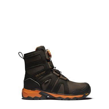 Solid Gear Tigris GTX AG High Vernestøvler S3, fôret, BOA, svart/oransje