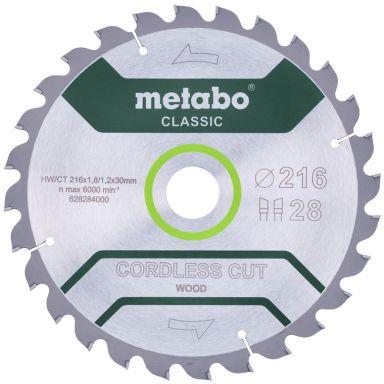 Metabo 628284000 Sagklinge 216 x 30 mm, 28T