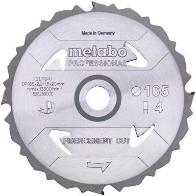Metabo 628289000 Sagklinge 165 x 20 mm, 4T