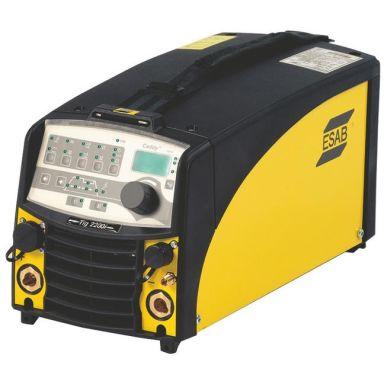ESAB CADDY TIG 2200IW TA34 Kit Tigsveis med brenner og MMA-kit, 1-fase