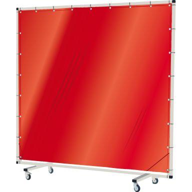 Industridraperier Björndraperiet 104025 Svetsskärm med hjul, 3 x 2 m, transparent