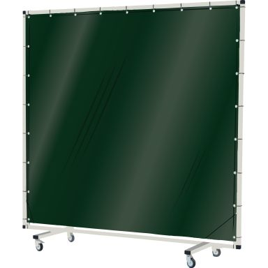 Industridraperier Björndraperiet 104004 Svetsskärm med hjul, 2 x 2 m, transparent