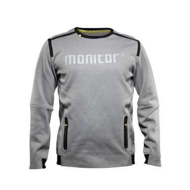 Monitor Sweat Two Sweatshirt grå