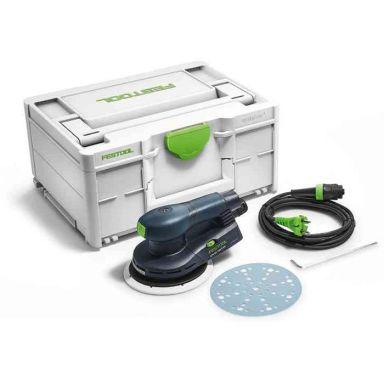 Festool ETS EC 150/5 EQ-Plus Excenterslip i systainer, 400 W