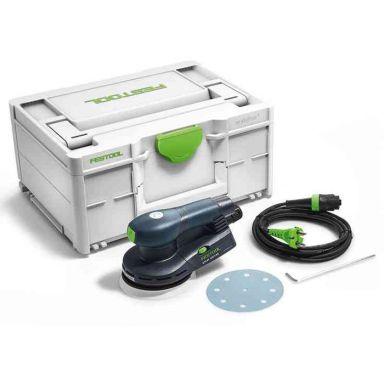 Festool ETS EC 125/3 EQ-Plus Excenterslip i systainer, 400 W