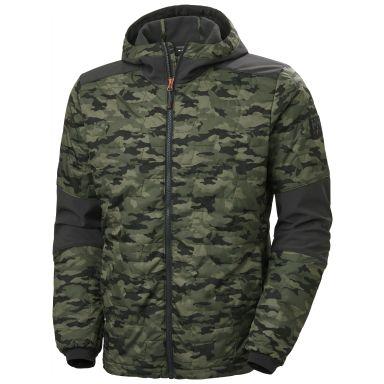 Helly Hansen Workwear Kensington Softshelljacka med huva, kamouflage