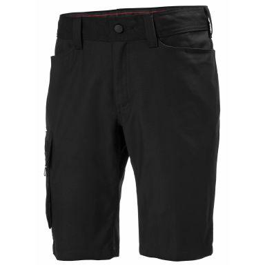 H/H Workwear Oxford Shorts svart