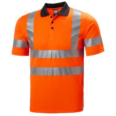 H/H Workwear Addvis Polo Pikétröja varsel, orange, stretch-reflex