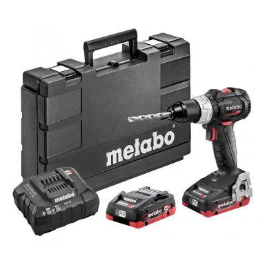 Metabo BS 18 LT BL SE Borskrutrekker med batterier og lader