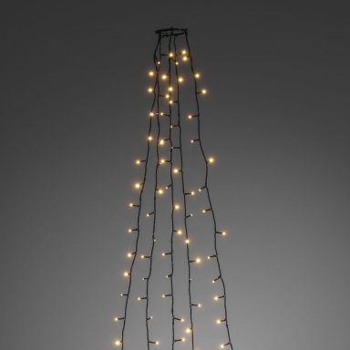 Konstsmide 6360-820 Joulukuusen valosarja 30x5 LED, 180 cm, 24V/IP20