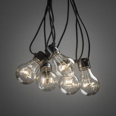 Konstsmide 2378-800 Lampeslynge E27, 4,5 m, 10 lyspunkter