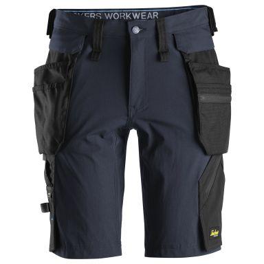 Snickers 6108 LiteWork Shorts marinblå/svart