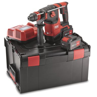 Flex CHE2-26 18.0-EC Set Kombihammare med batterier och laddare