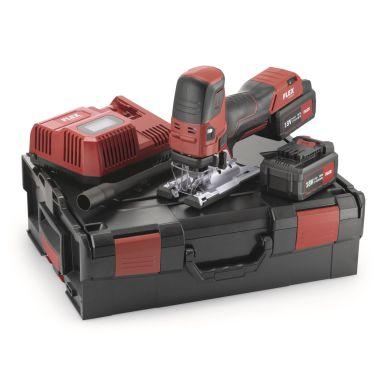 Flex JS18.0-EC Set Sticksåg med batterier och laddare