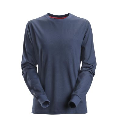 Snickers 2467 ProtecWork T-shirt långärmad, marinblå